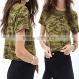 Short sleeve women apparel Wholesale Camo women apparel, women apparel, garment factory