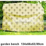 waterproof garden bench cover / Polyester waterproof garden furniture cover