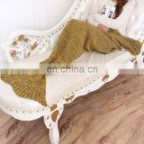 Popular Spring/Autumn warm leisure sofa lady blanket wholesale 2016
