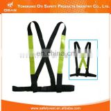 Hot sell safety industrial belt with reflective type for working waist belt