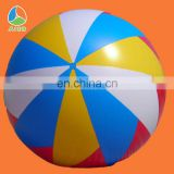 PVC inflatable helium balloon beach ball for sale