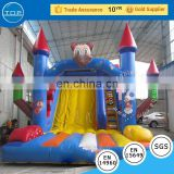 TOP inflatable slide for sale inflatable double Castle slide