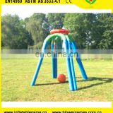 Interactive game adult giant inflatable basketball hoop