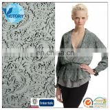 70% Rayon 30%Polyester Jacquard Cloth Fabric Brocade Bubble Knitted Fabric Fashion Dress