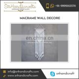 Optimum Quality Compact Design Macrame Wall Decor Available in Various Colors