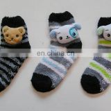 anti skid slippery plush socks