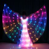 Led Color Change Smart Isis Belly Dance Wings