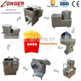 Industrial Plantain Finger Chips Frying Production Line French Fries Making Machine Commercial Used Potato Chips Equipment