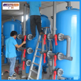 Textile Industry Water Tank Filter Quartz Sand