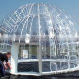 high quality, Transparent inflatable tent,clear inflatable lawn tent for Leisure time