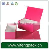 strong cardboard custom printed shoe box packaging and wholesale custom printed shoe box