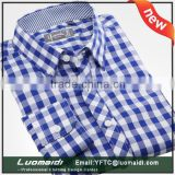 men shirts long sleeve cuff/men shirt oem design/casual banded collar shirts for men shirts