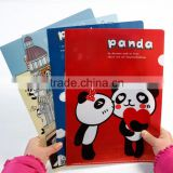 A4 PP folder, office presentation customized L shape file folder