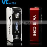 2015 Latest Vapecige temp control mod VTbox200 VT200 with authentic DNA 200 chip, VT box 200W