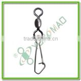 fishing tackle accessories Crane swivel with hooked snap