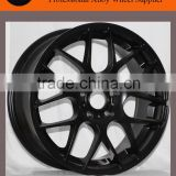"17"" 18"" and 19"" matt black / black machine face replica HRE wheel                                                                         Quality Choice"