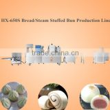 automatic steam stuffed bun production line machine