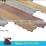 Sound Absorbing Eco - Click PVC Vinyl Floor Tile with Good Quality                                                                         Quality Choice