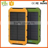 Fashionable hardstyle 10000mah solar charger for iphone 6