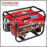 Strong Square Frame AC Single Phase 4 stroke Portable Gasoline Generator 2KW 3KW 4KW 5KW 6KW 7KW For Sale