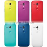 Original Shell Hard Armor Snap On Case battery replace Back Cover for Motorola Moto G