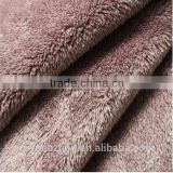 cationic thick wool sherpa blanket fabric