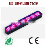 OEM LED grow light JL-G/ZWD-77X3W indoor grow kits 3w chip full spectrum led grow lights