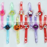 Halloween Festival Children toy gifts led flashiong bracests/wristband festival&party supplies