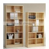 Cheap narrow bookcase office file cabinet design wooden bookshelves (SZ-FCB370)