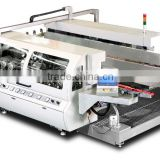 glass double edge machine work with tempering glass making machine glass processing machine glass cutting machine