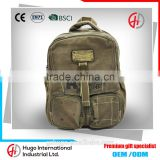 New Fashion Harajuku Style High Quality Unisex Big Canvas Travel Zipper Backpack military backpack From Guangzhou