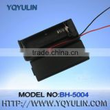 AA battery operated led light box black battery holder with 12cm wire CE&ROHS                                                                         Quality Choice