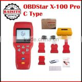 Factory price!!!OBDSTAR X-100 PRO X100 Pro Auto Key Programmer (C) Type for IMMO and OBD Software Function