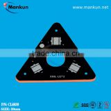 PCB fabrication mining lamp sink pad bare circuit board with XML led