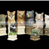 Promotion resin chess animal ,football chess