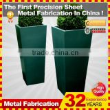 Kindle 2014 New polychrome galvanized oblong stainless steel outdoor planters