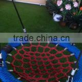 round metal swing for children net swing