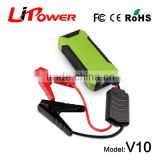 2015 new high quality strong power DC12V Mini jump starter power pack with air compressor