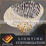 modern design flush mount stained color glass rain drop crystal chandelier                                                                                         Most Popular                                                     Supplier's Choice