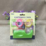 Manufacturer of spot sales 2001 adhesive tape dispenser + suction card packaging stationery tape