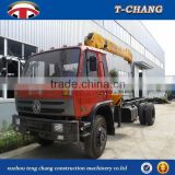 factory sale SQ4SA3 hydraulic swivel boom small truck lift crane with ISO9001 certification