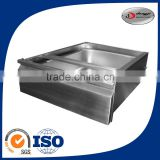 Customized stainless steel plate sheet metal fabrication steel trough fabrication