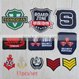 Sew-On New Badge Embroidery Chapter Mark Woven Patch Stickers Cartoon Fabric