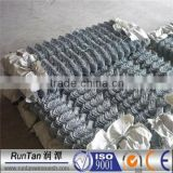 ASTM A392 hot dipped galvanized and pvc coated diamond chain link mesh fence (Since 1989)