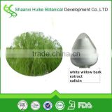 Natural plant extract powder white willow bark extract salicin powder