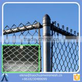 chain link fence/ used chain link fence for sale/ cheap wrought iron fence panels for sale