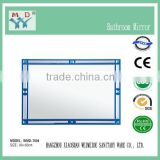 acrylic framed lighted bathroom mirror,double acrylic mirror strips,acrylic plastic mirror