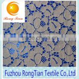 Fuzhou factory African fashion cotton lace fabric for bedding