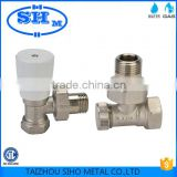 ISO approved forged CW617n brass heater valve Chinese factory brass heater valve