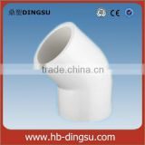 ASTM SCH40 45 Degree PVC Elbow 5 inch pvc pipe fittings